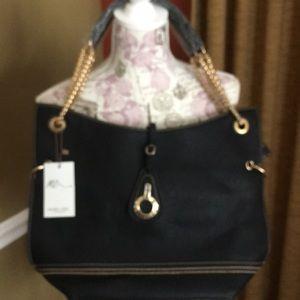 Handbags - Black Mark Ciel purse. NWT Soft leather